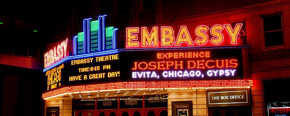 Historic Embassy Theatre