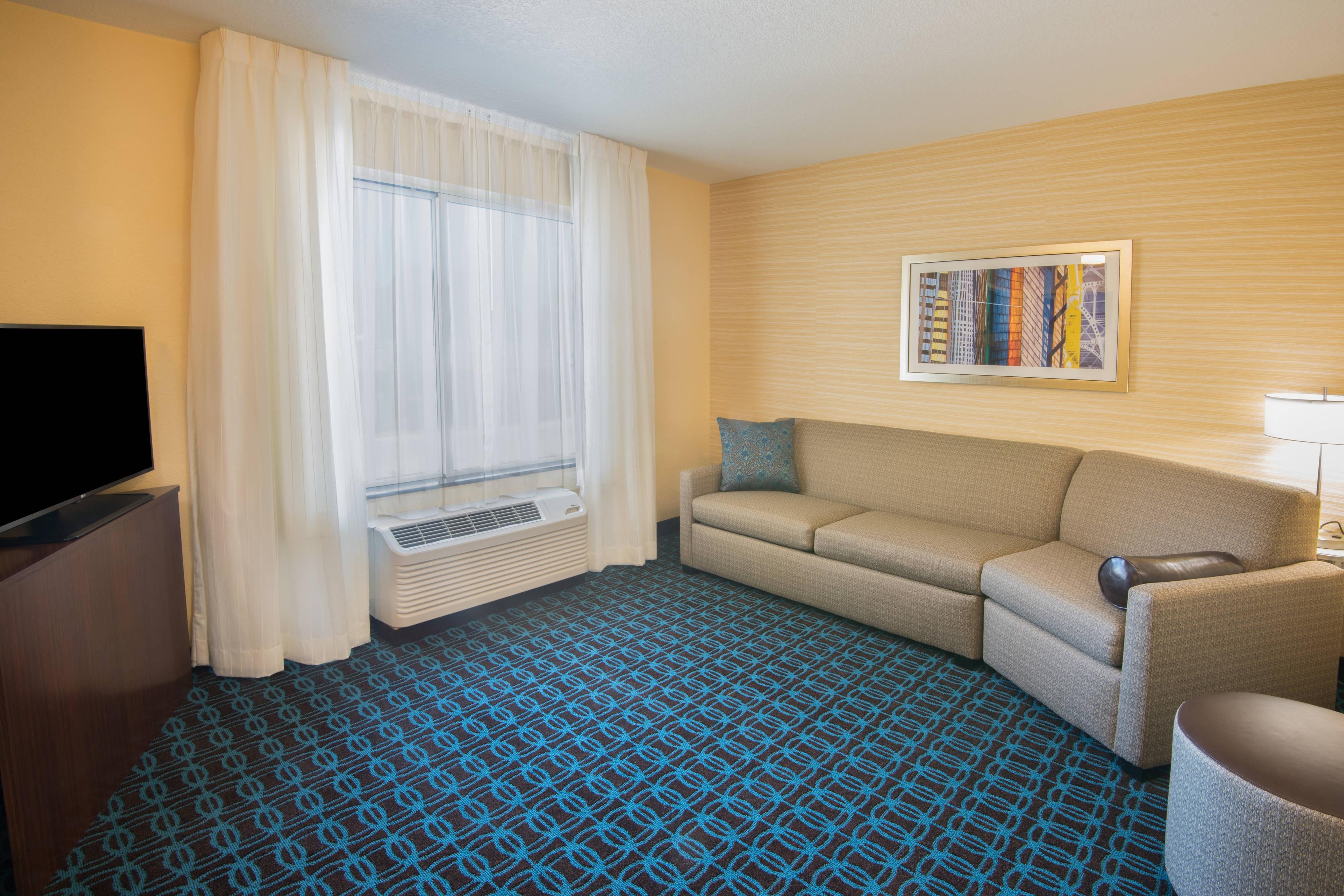 Sitzbereich der Suite