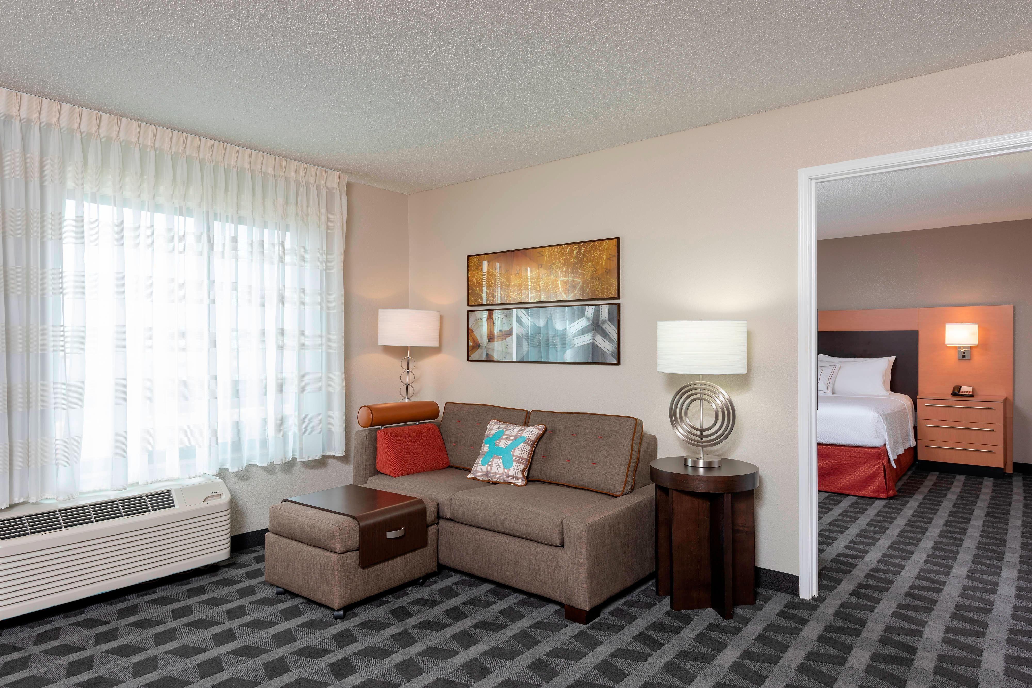One- Bedroom Suite Seating Area