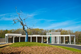 Crystal Bridges Museum in Bentonville AR