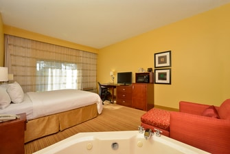 King Whirlpool Guest Room - Amenities