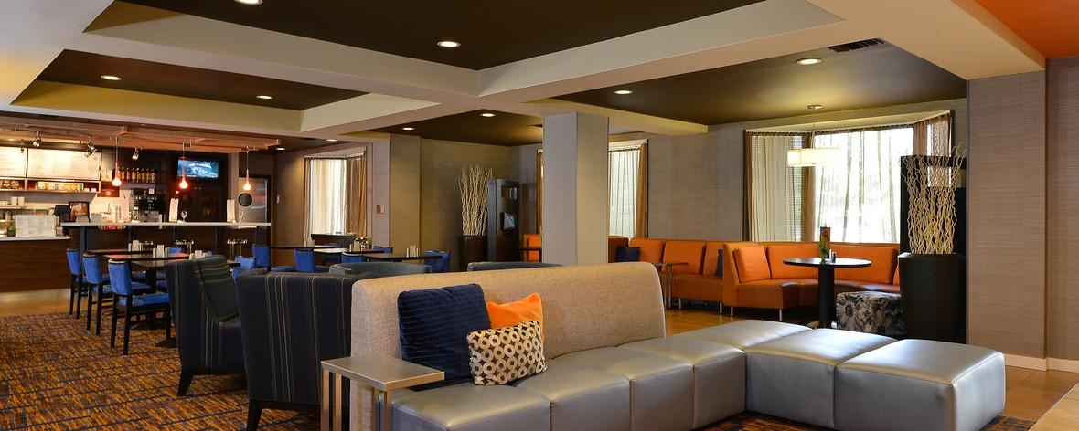 Hotel's Lobby in Bentonville Arkansas