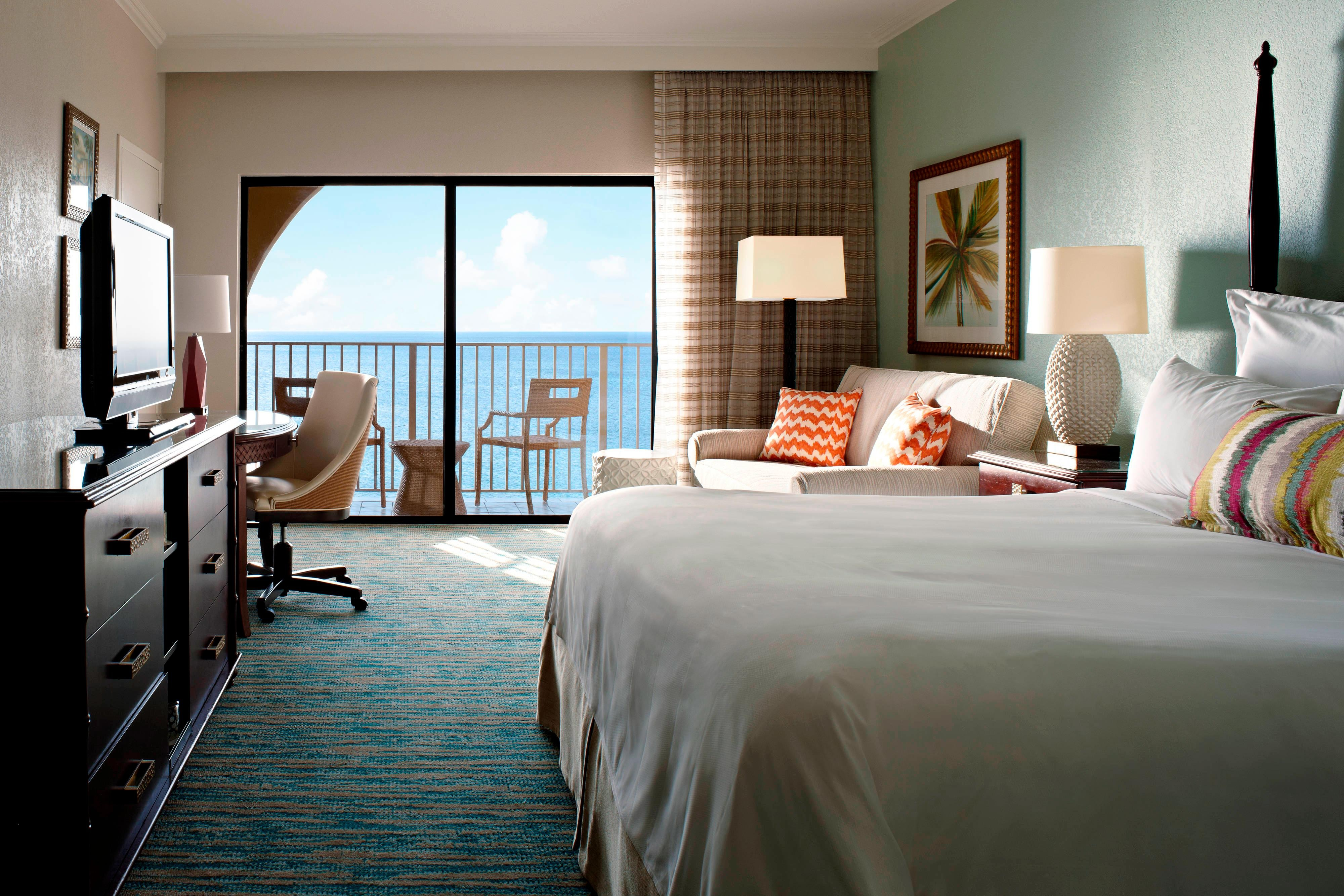King Guest Room - Ocean Front View