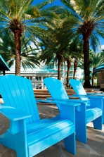 Pool side Beach Seating