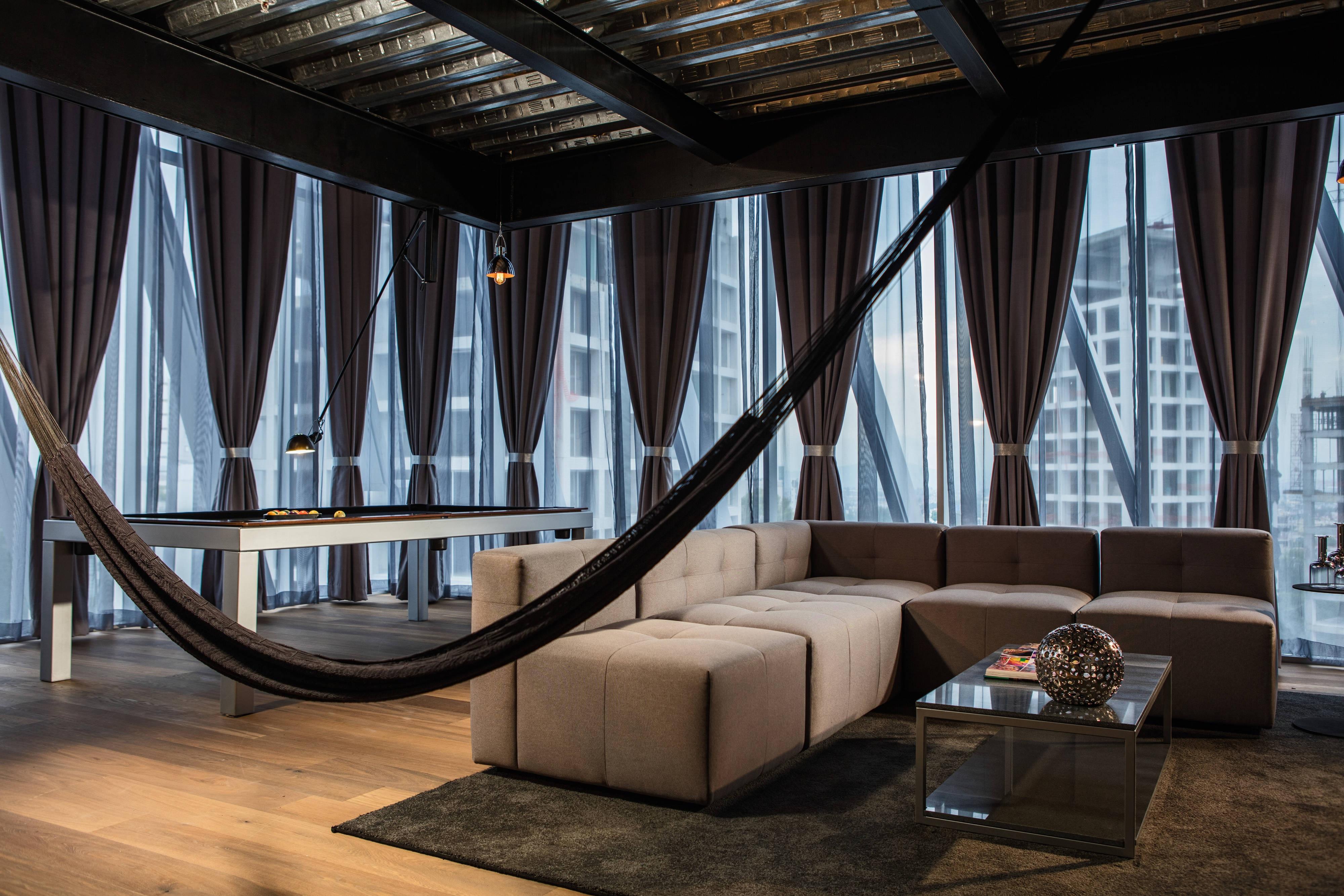 Suite mit zwei Etagen – Wohnbereich
