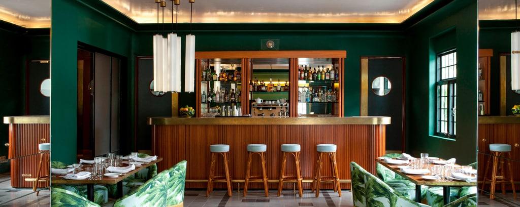 Bar en el restaurante