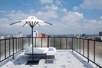 Rooftop Terrace Relax Area