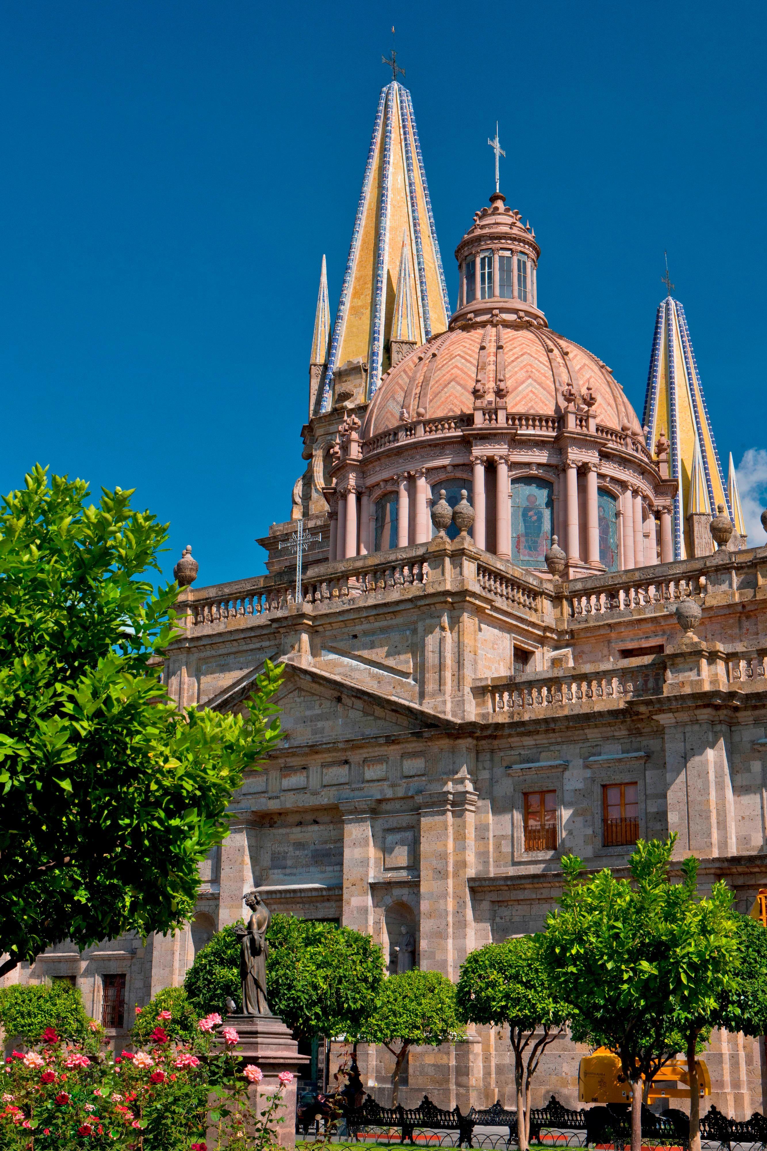 The Guadalajara Cathedral