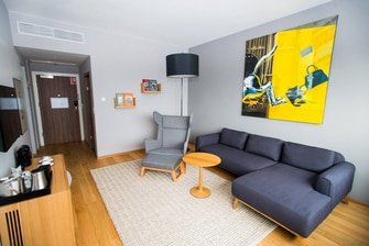 One-Bedroom Suite Living Room