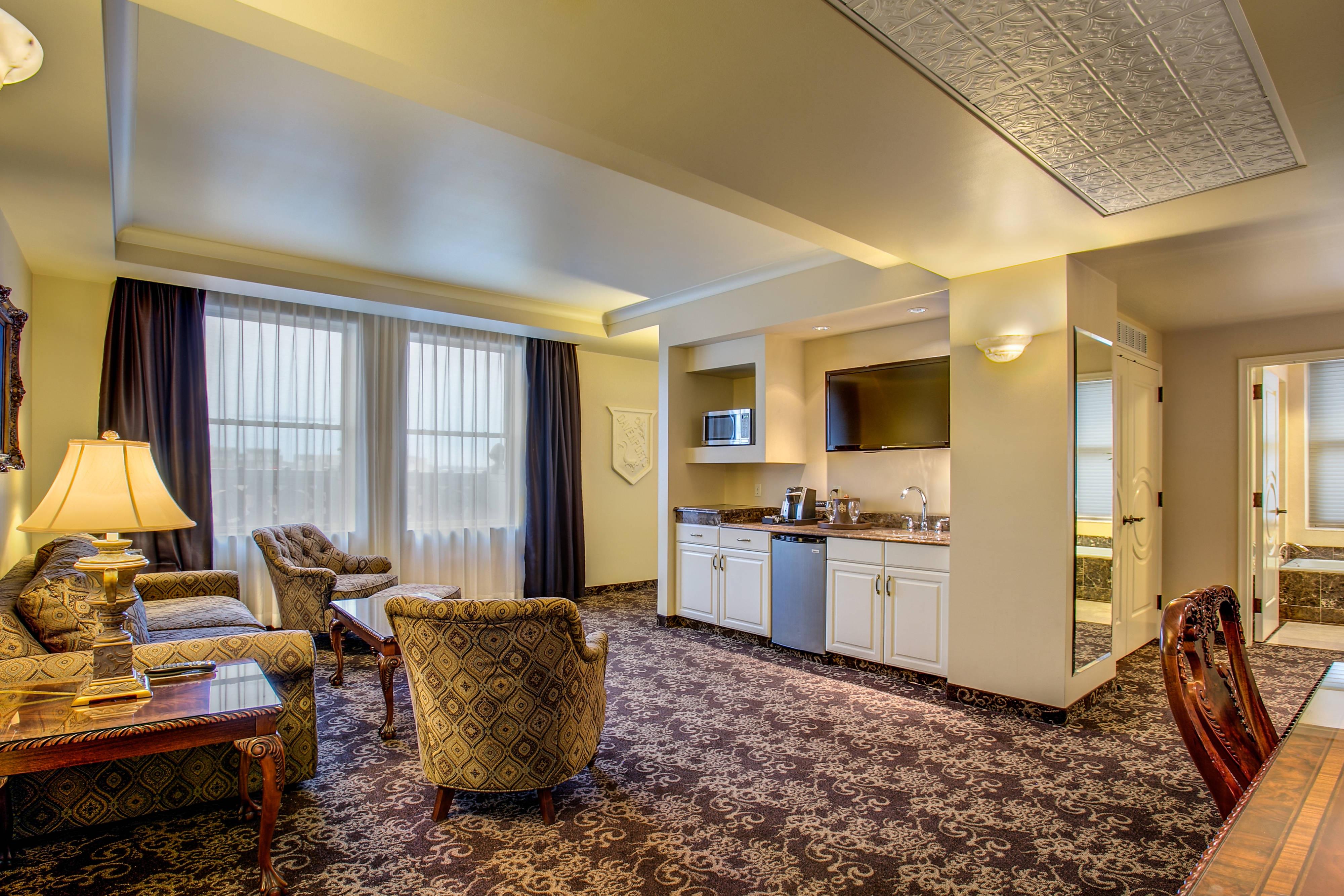 Wohnzimmer der Parlor Suite
