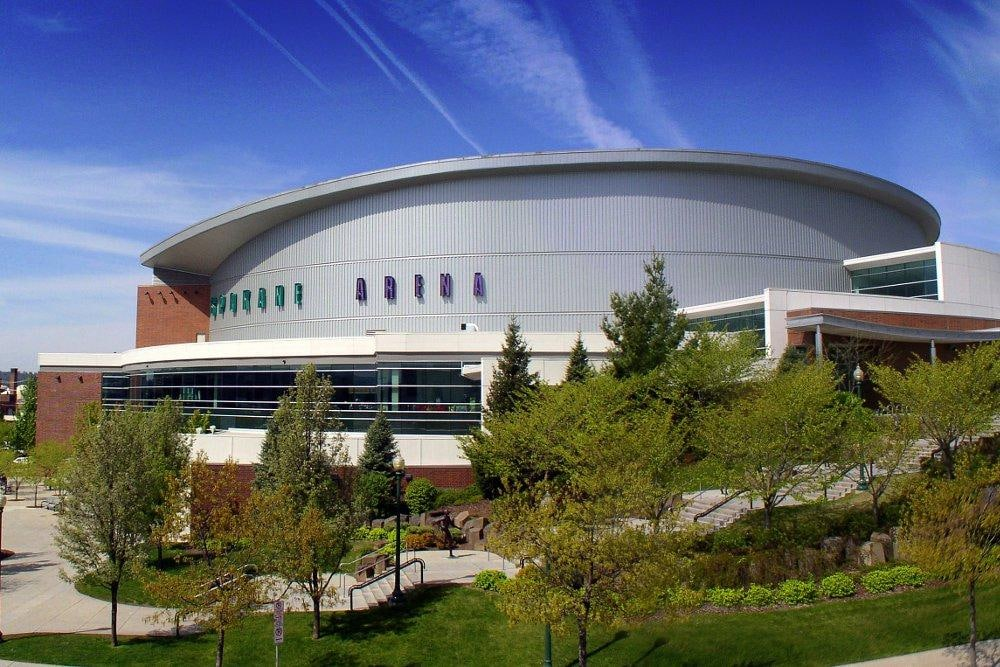 The Spokane Arena