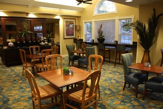 Residence Inn Gatehouse Breakfast area