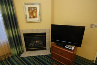 Residence Inn Two-Bedroom Suite Fireplace