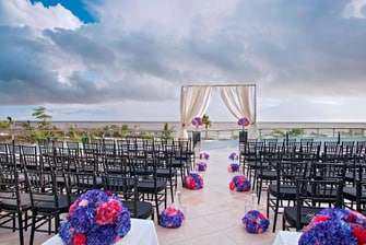 Wedding Ceremony at Sea Terrace
