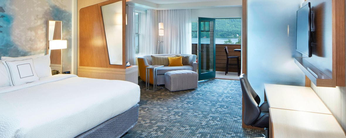 Hotels in Lake George in the Adirondacks   Courtyard Lake George on map of manhattan ny hotels, map of cooperstown ny hotels, map of ithaca ny hotels, map of new york state albion ny, map to crown point lake george,