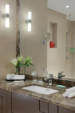 Jazan Hotel Bathroom