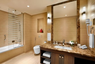 Residence Inn Jazan Apartment Bathroom