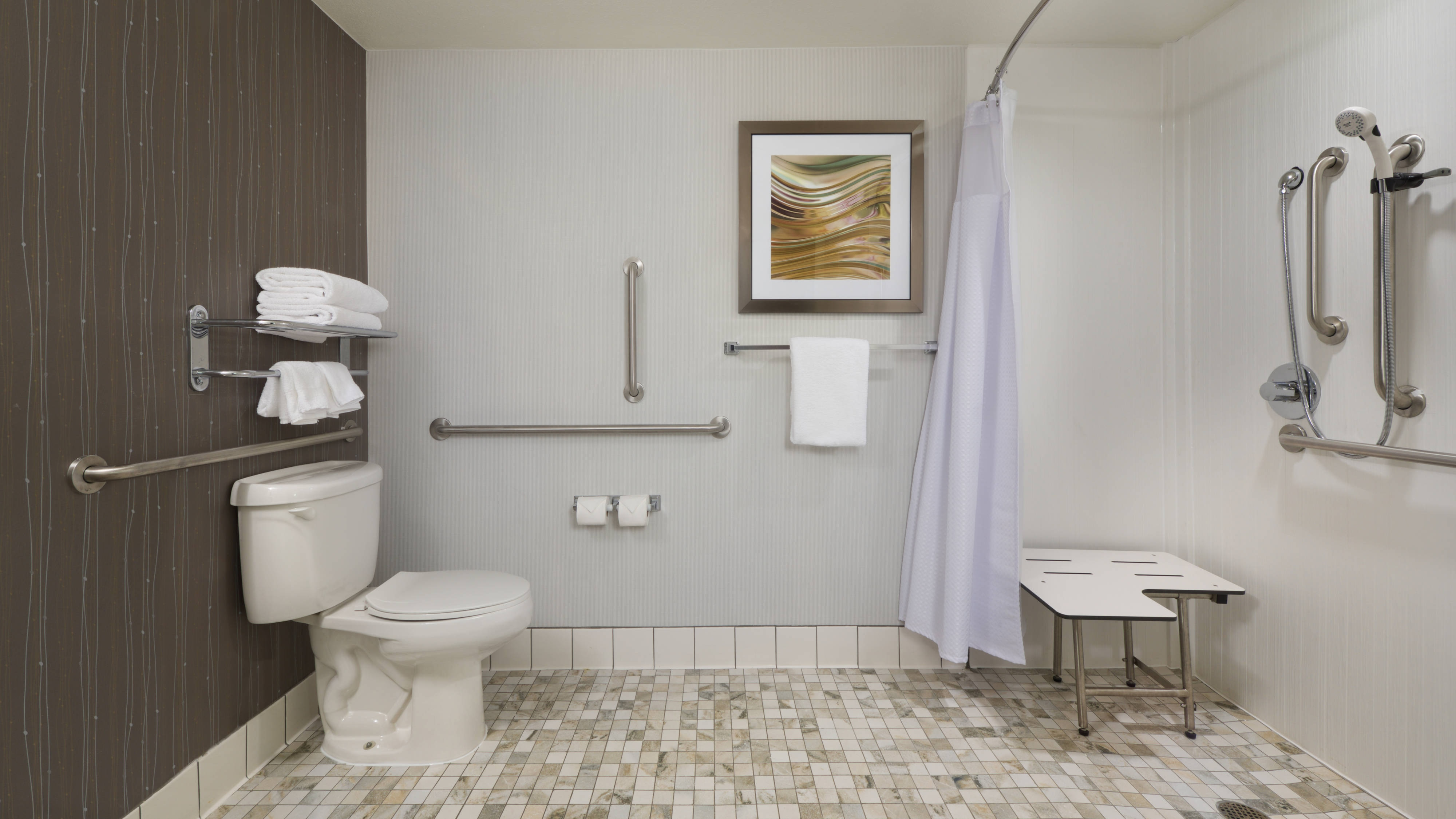 Grand Junction Accessible Hotel Bathroom