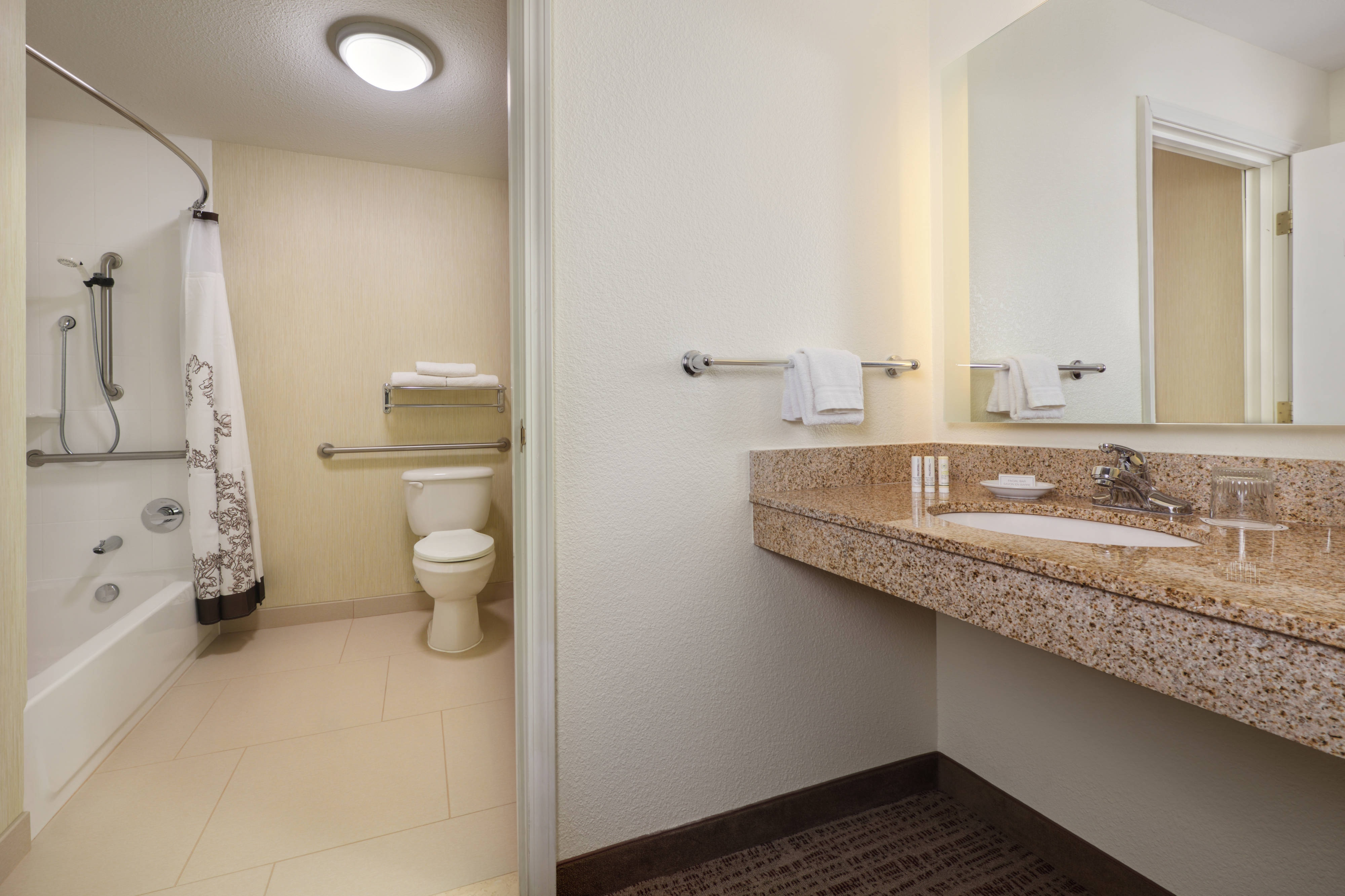 Grand Junction Accessible Suite Bathroom