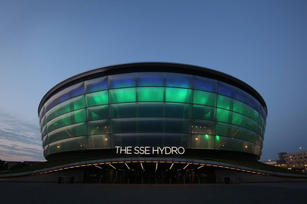 Hotel near Glasgow arena