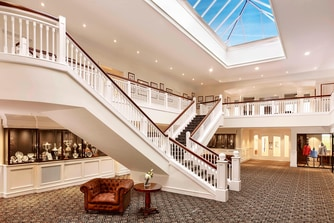 Trump Turnberry clubhouse atrium