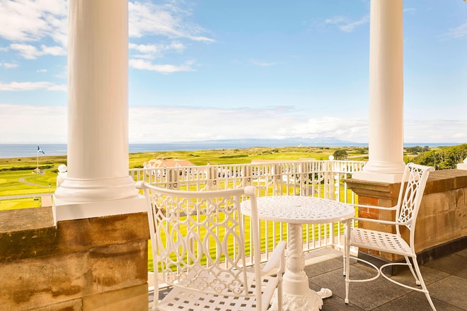 The Norman Suite - Balcony