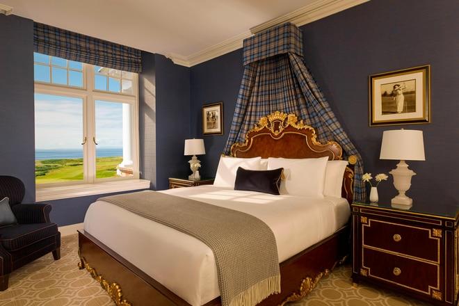 The Norman Suite ocean View Bedroom