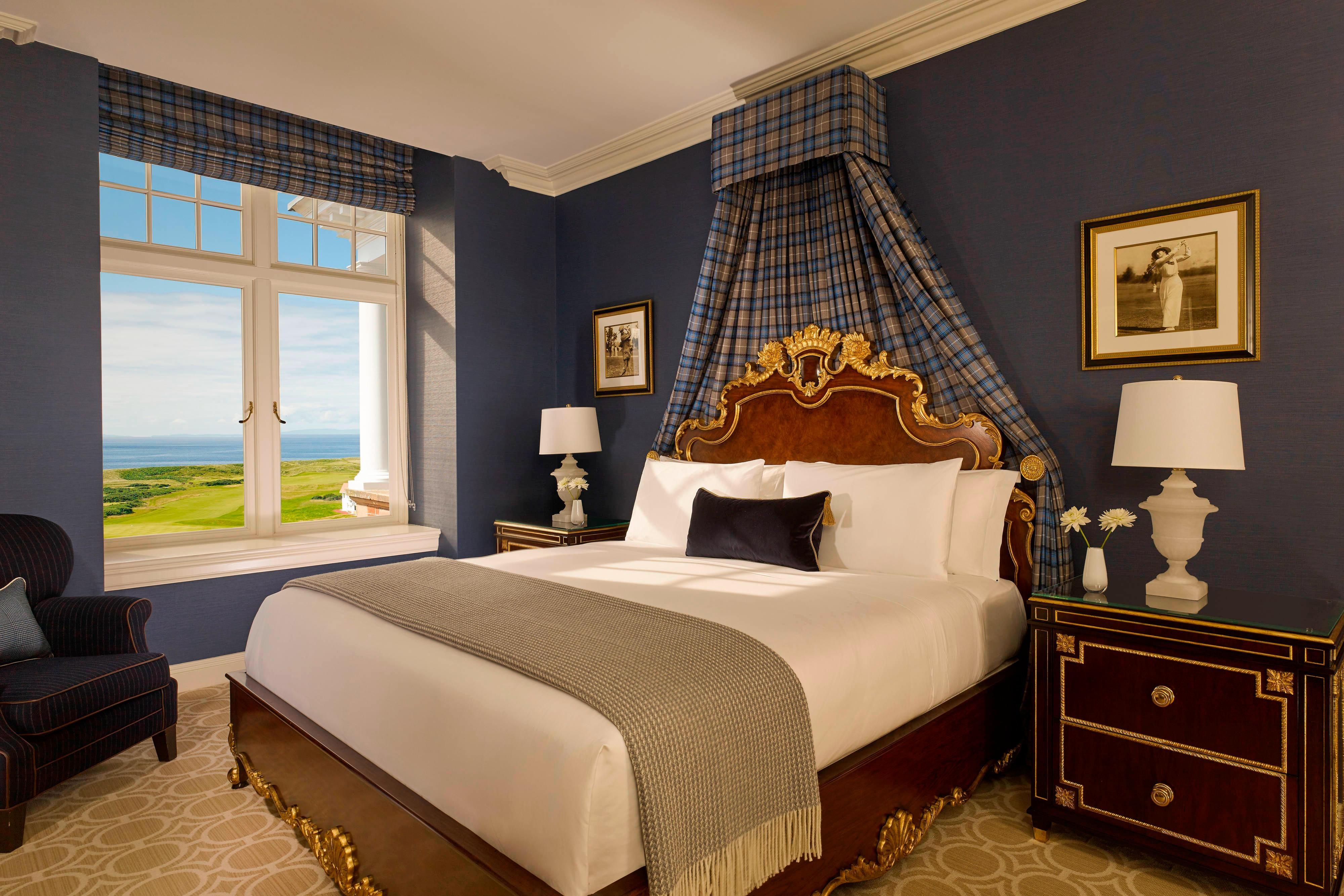 Suite con letto matrimoniale King e vista oceano - Camera da letto