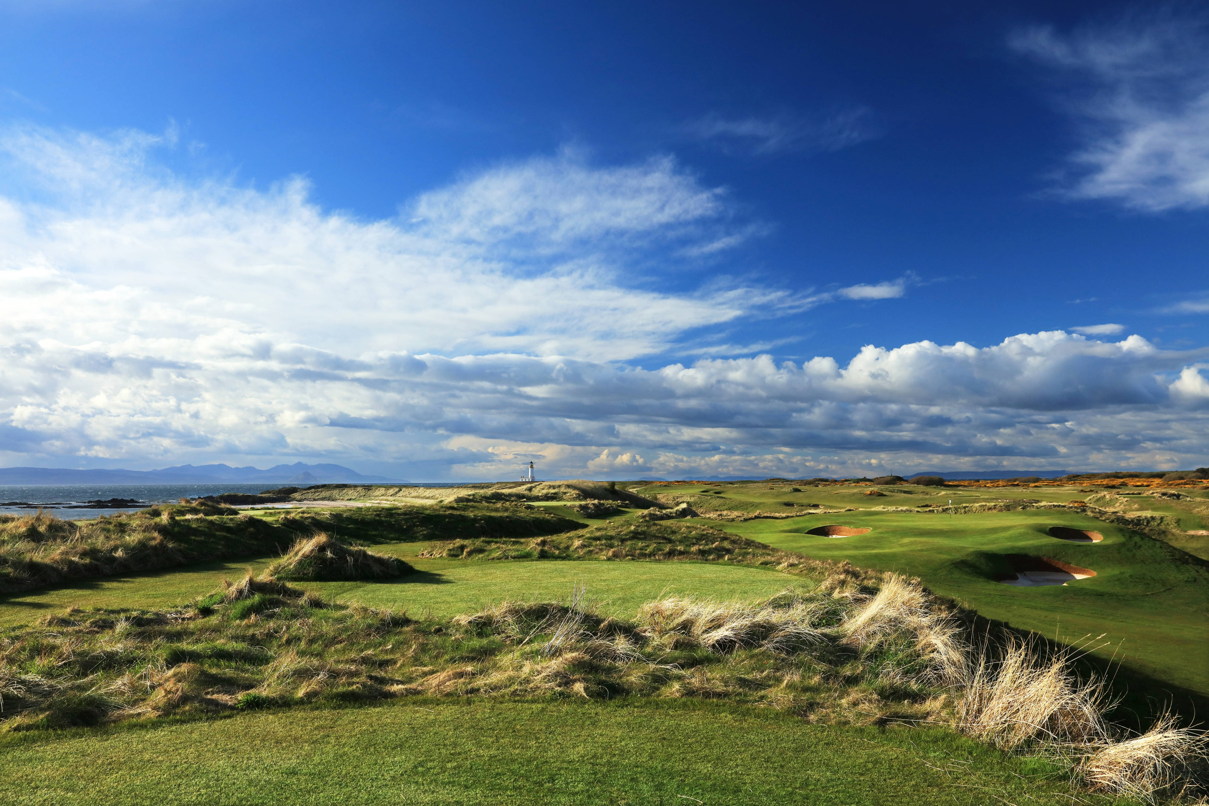 The 6th hole of the Ailsa Course