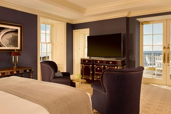 The Turnberry Lighthouse Suite - Master Bedroom