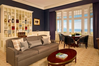 The Norman Suite lounge Area
