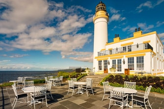 The Turnberry Lighthouse Halfway House Terrace
