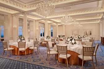 Crystal Ballroom - Wedding Reception Reception