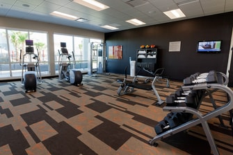 Fitness Center in Galveston hotel