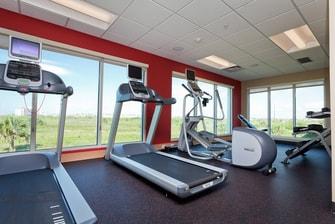 Galveston hotel fitness center