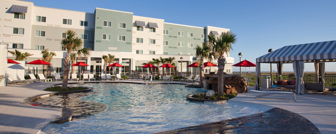 Hotelpool in Galveston
