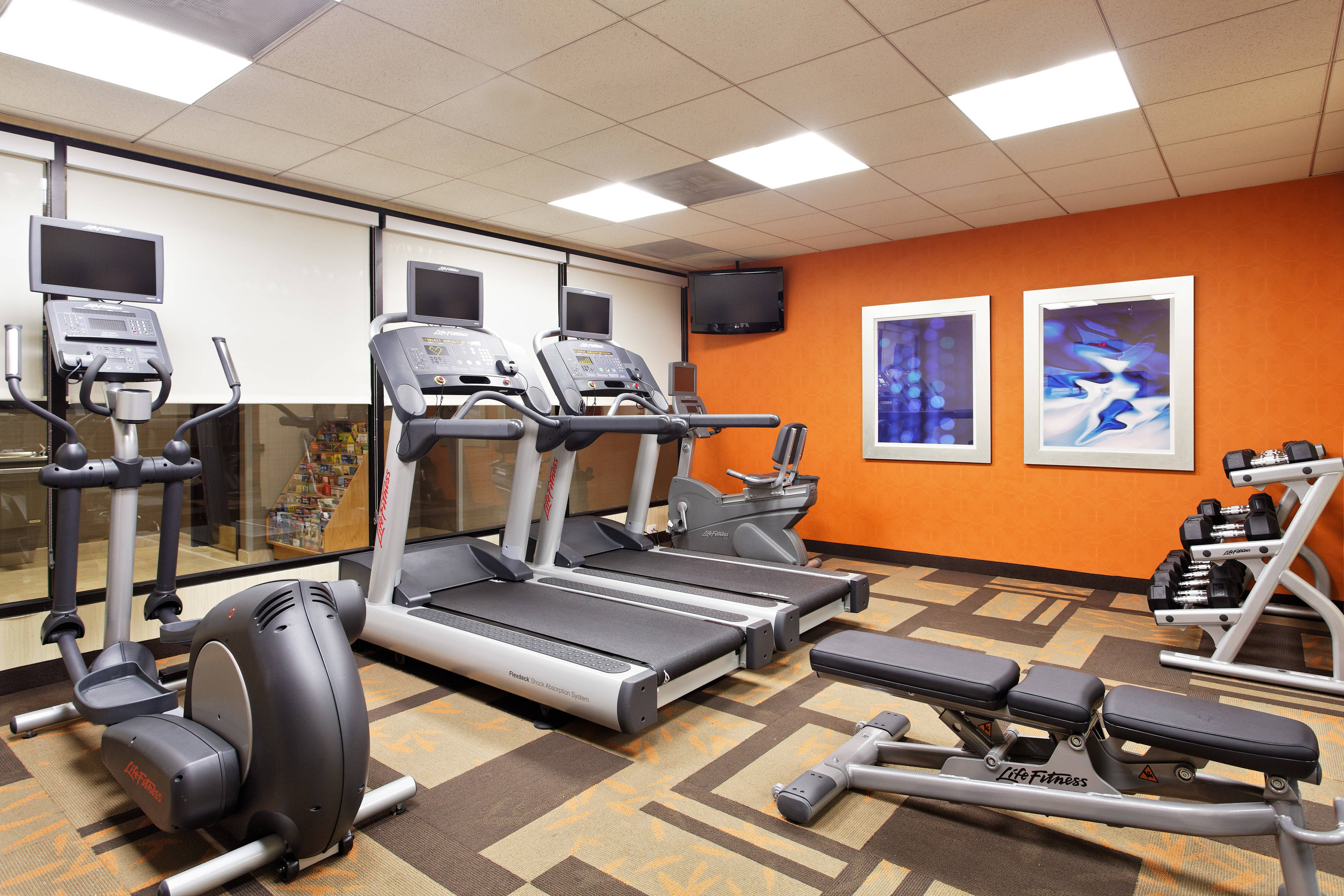 hotel fitness center in gainesville