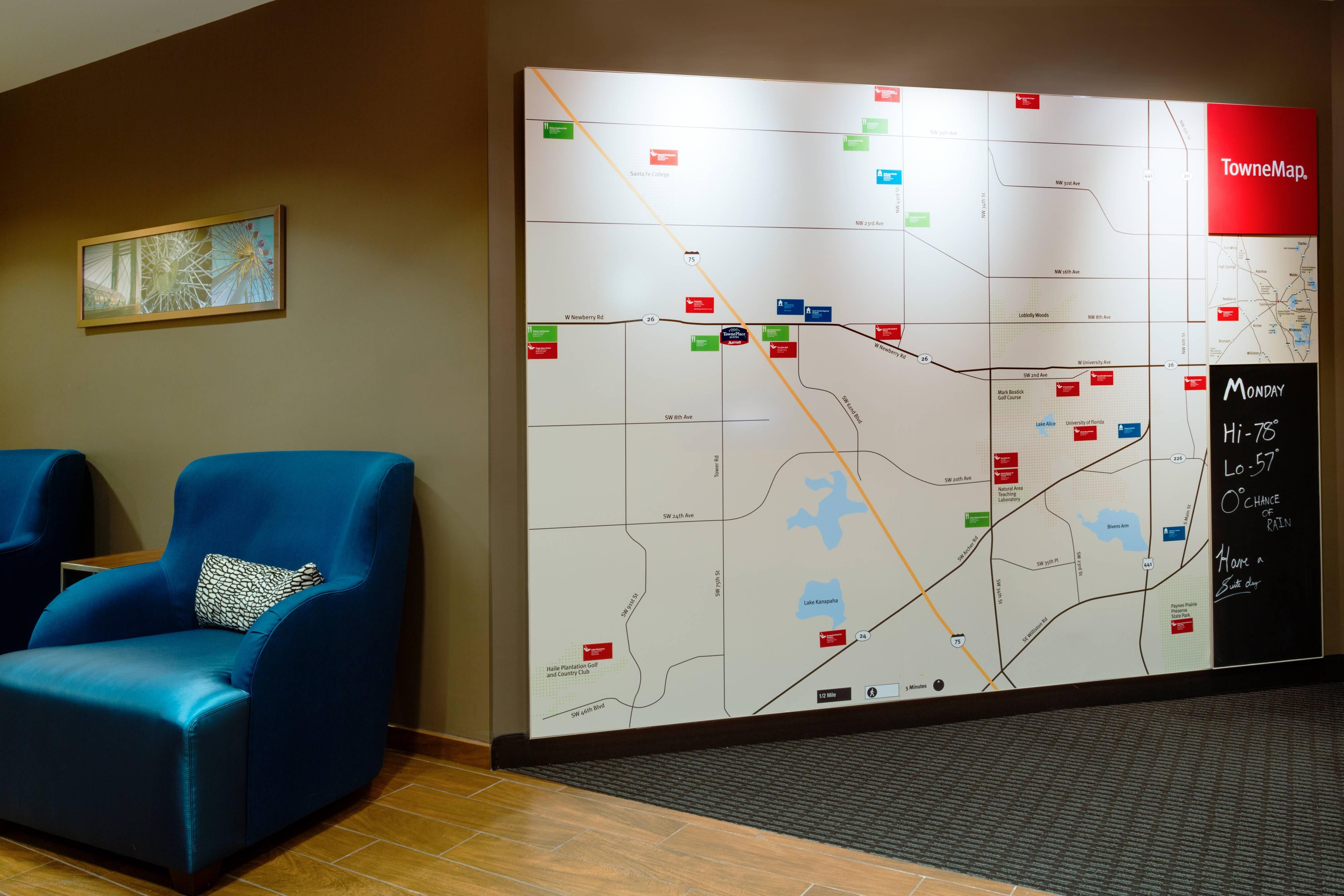 Gainesville, FL Map