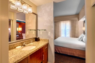 Residence Inn Ocala Suite Bathroom