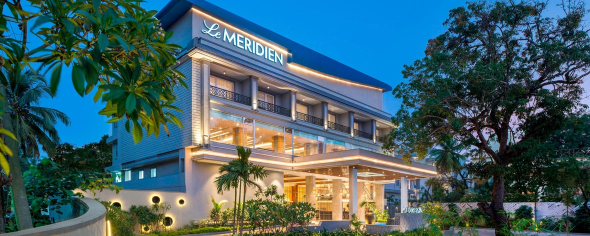 Five Star Hotel In North Goa Le Meridien Goa Calangute