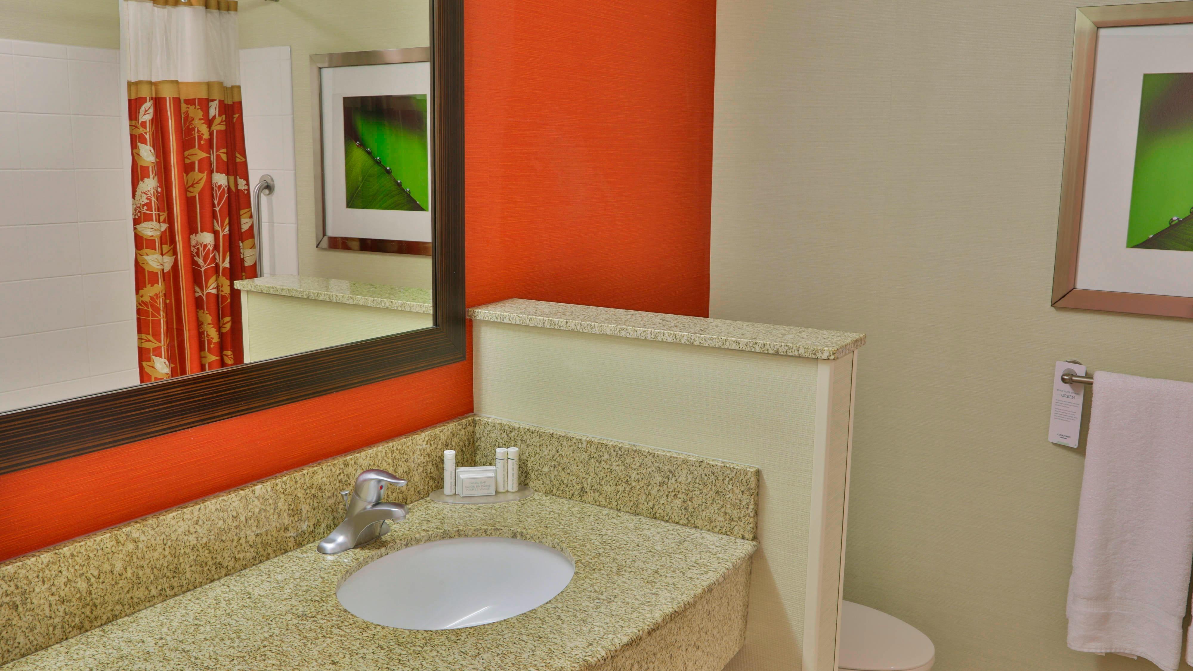 Courtyard Guest Bathroom