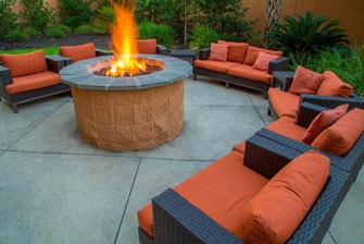 Courtyard Marriott Biloxi N/D'Iberville Outdoor Fire Pit
