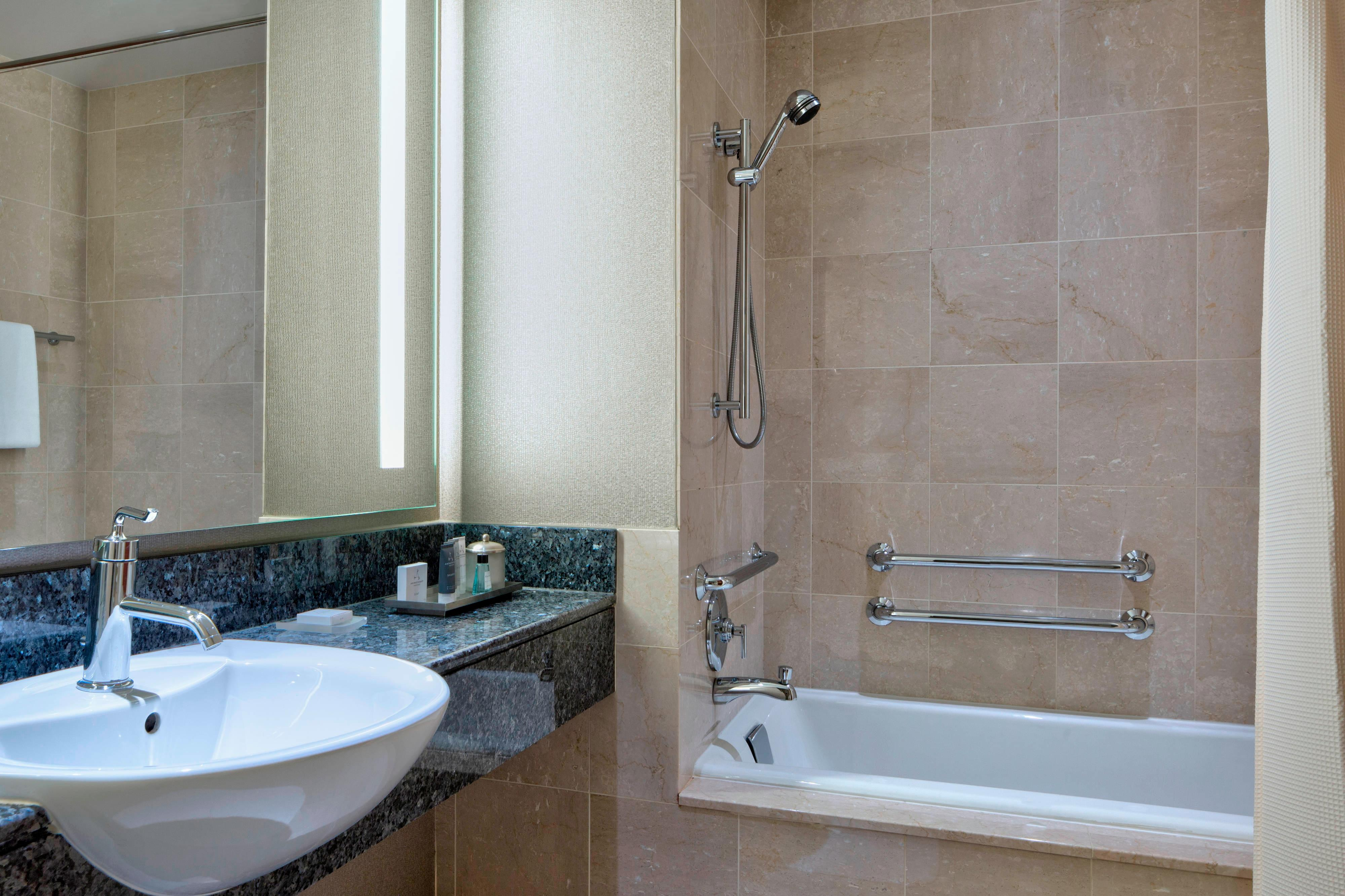 Guest Bathroom - Shower/Bathtub Combination
