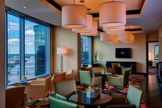 JW Marriott Grand Rapids Club Lounge