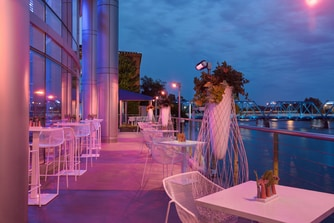 Grand Rapids Hotel Dining Outdoor