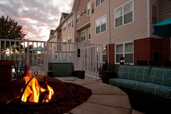 Residence Inn outdoor patio photo