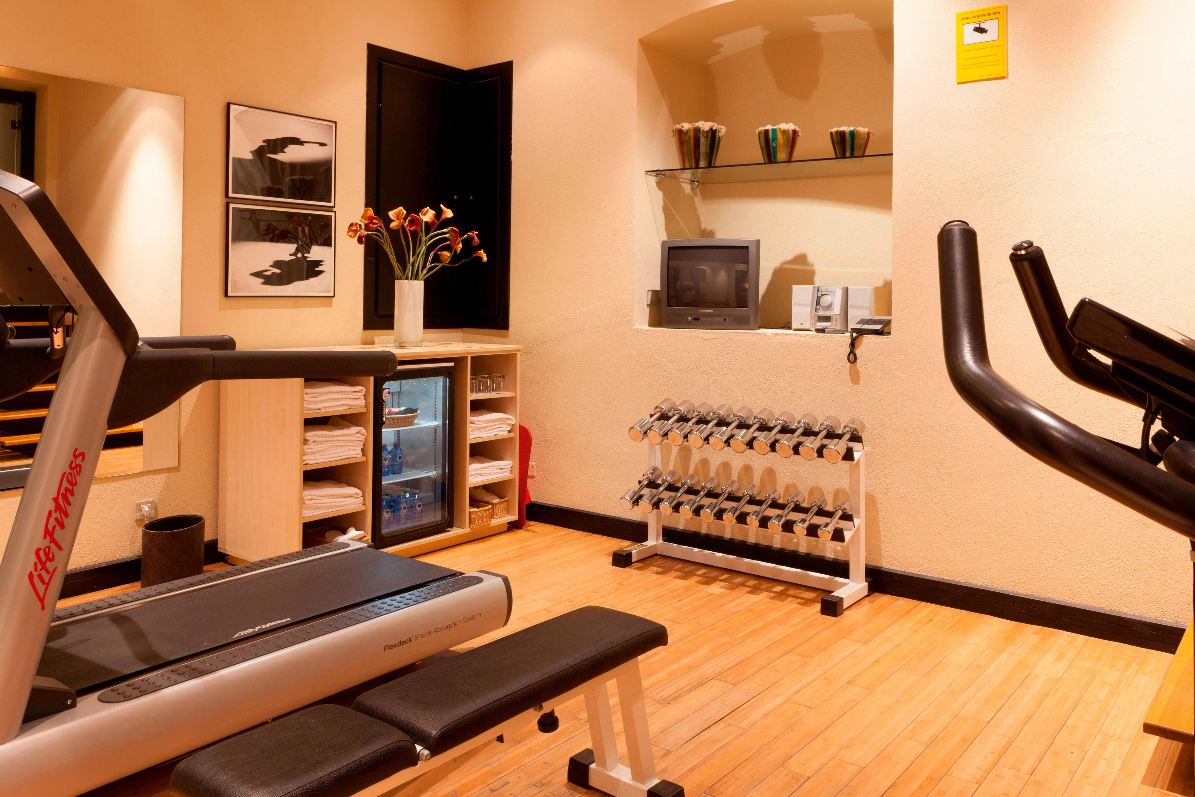 Hotel in Granada with fitness center