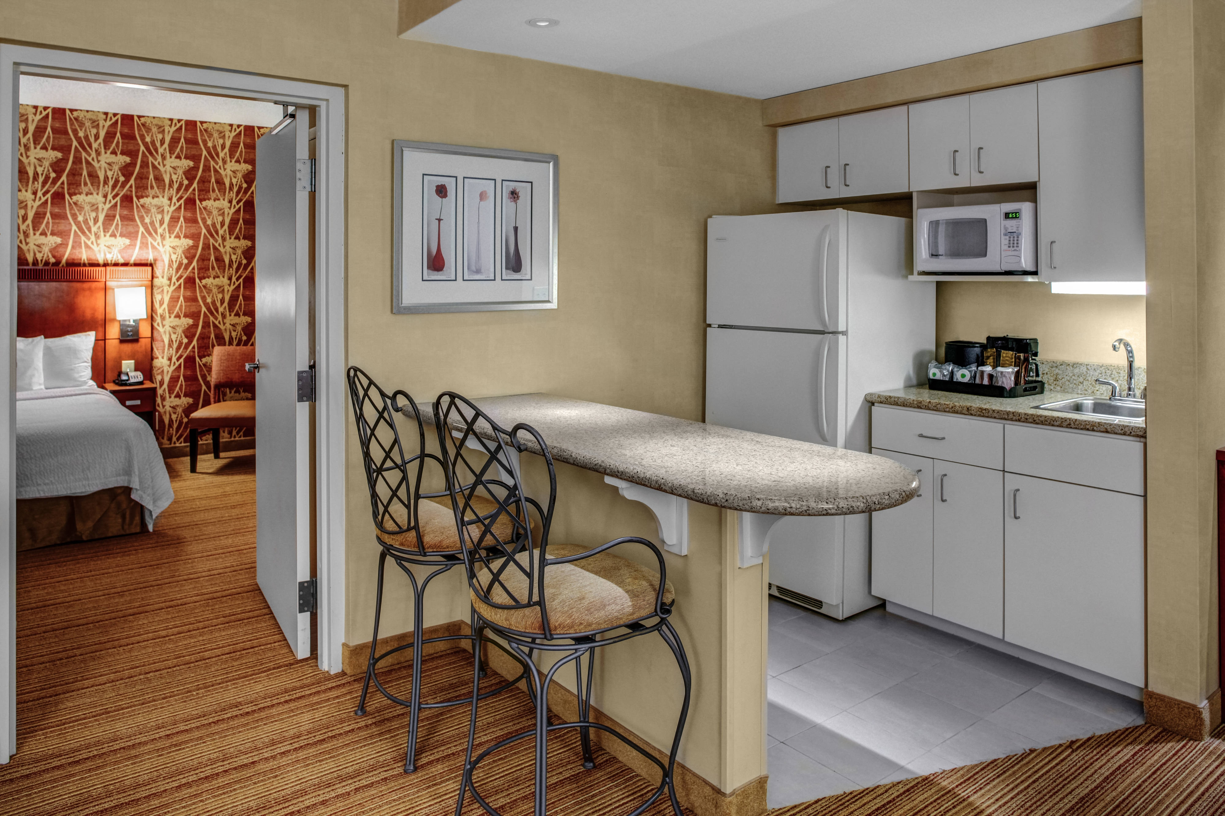 King Suite Kitchen Area