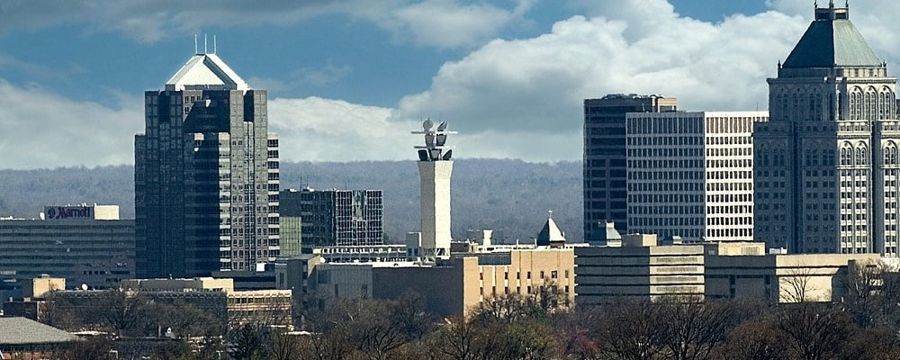 Panorama de Greensboro