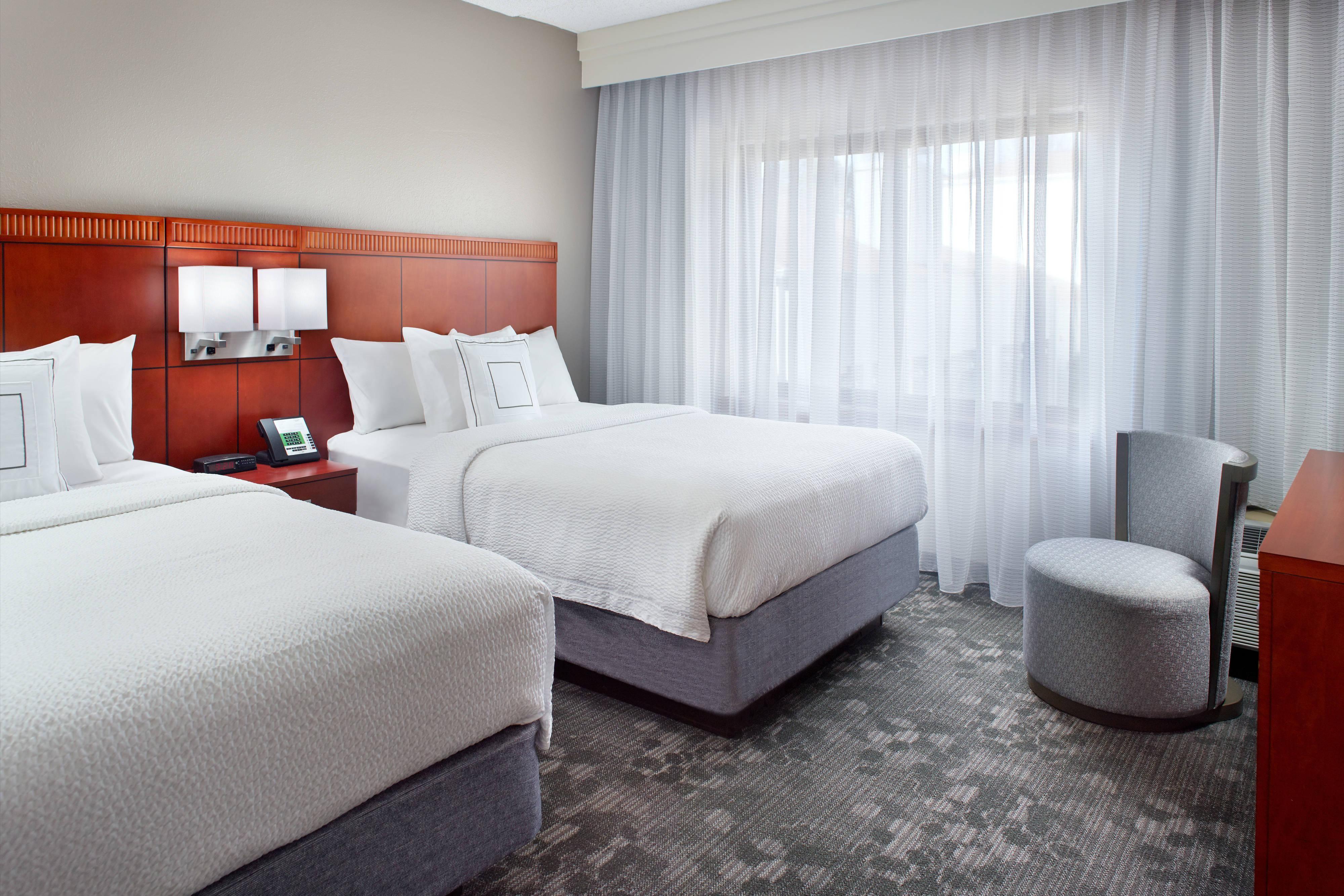 Suite avec deux lits doubles - Chambre